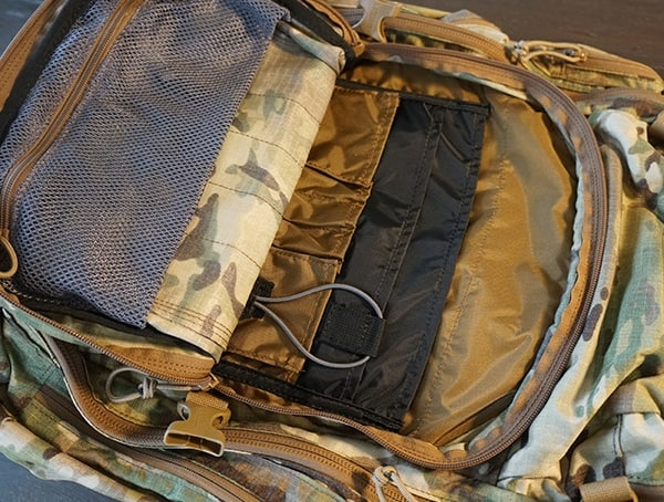 Camelbak Bfm Organized Compartments With Loop Velcro