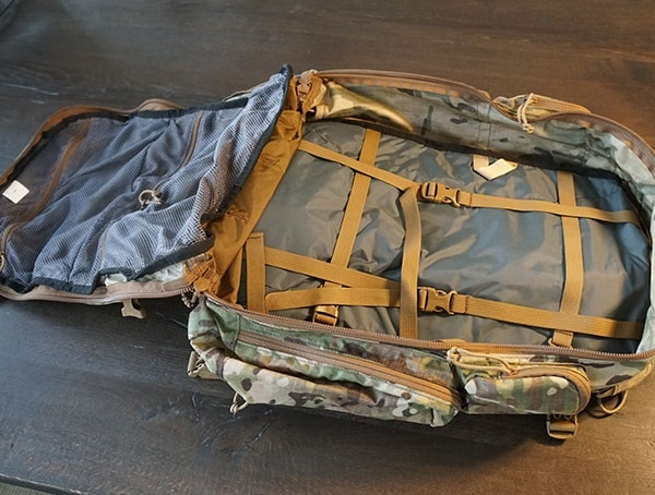 Camelbak Bfm Tactical Backpack Interior Review