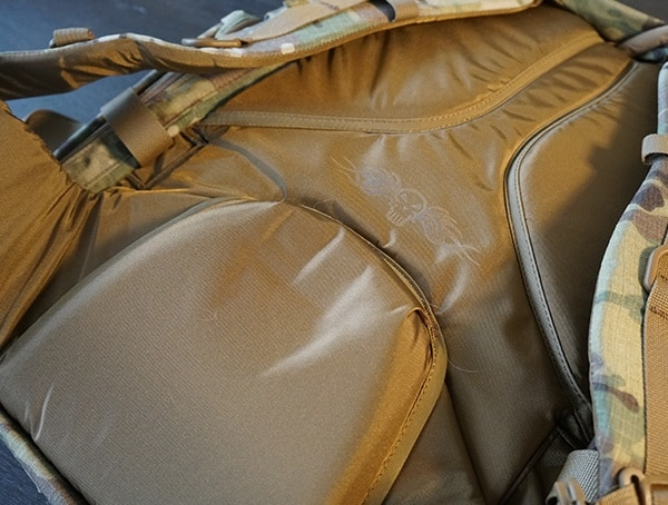 Camelbak Bfm Tactical Backpack Review Back Panel
