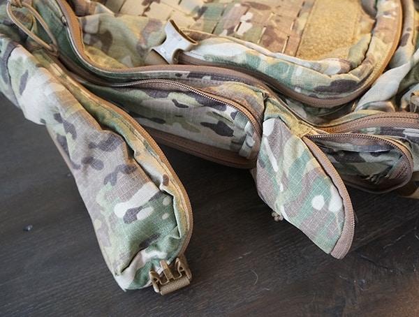 Camelbak Bfm Tactical Backpack Side Opened Pockets