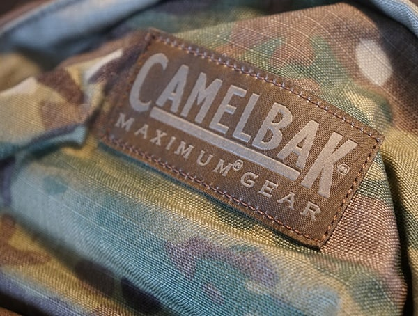 Camelbak Bfm Tactical Pack Branded Detail