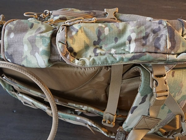 Camelbak Bfm Tactical Side Of Backpack Double Storage Compartments