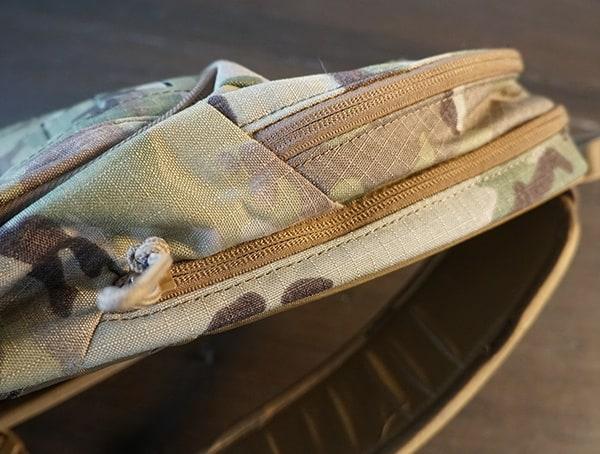 Camelbak Miltac Mule Review Side Zipper Pockets