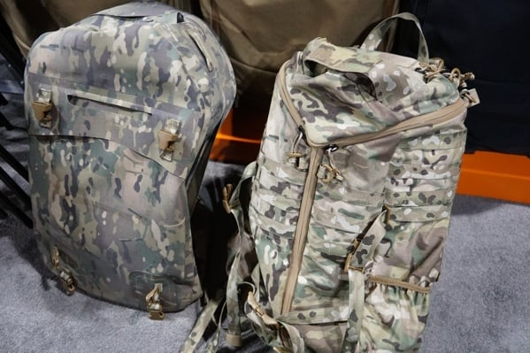 Camo Dry Bag And Pack
