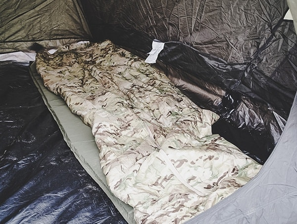 Camp Gear Reviewed Multicam Snugpak Special Forces 1 Sleeping Bag