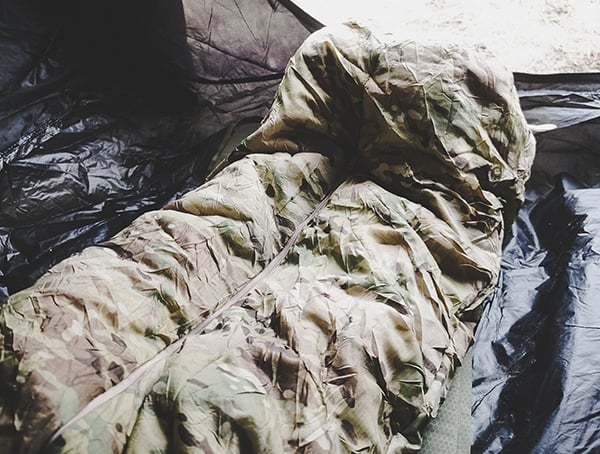 Camping Outdoor Field Test Multicam Snugpak Special Forces 1 Sleeping Bag