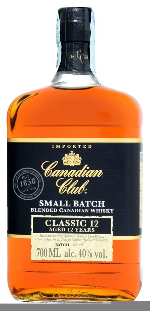 canadian whisky canadian club classic 12 y.o