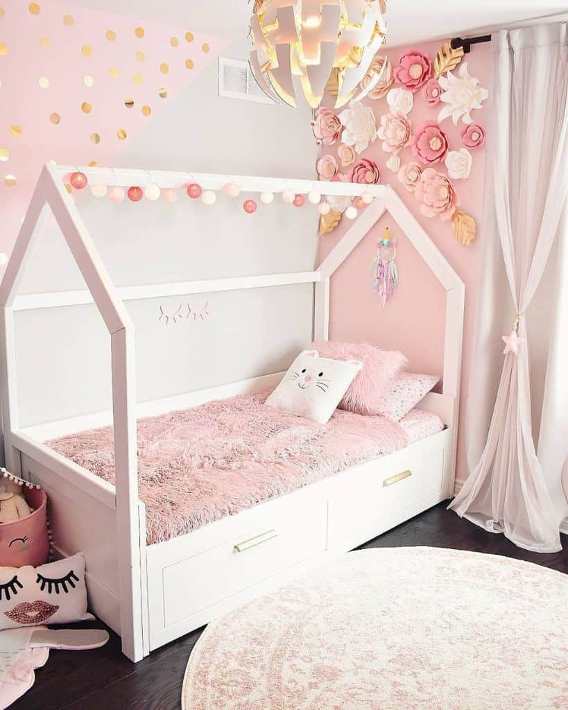 Canopy Bed Girls Bedroom Ideas A.moroccanspinkandgold.dream