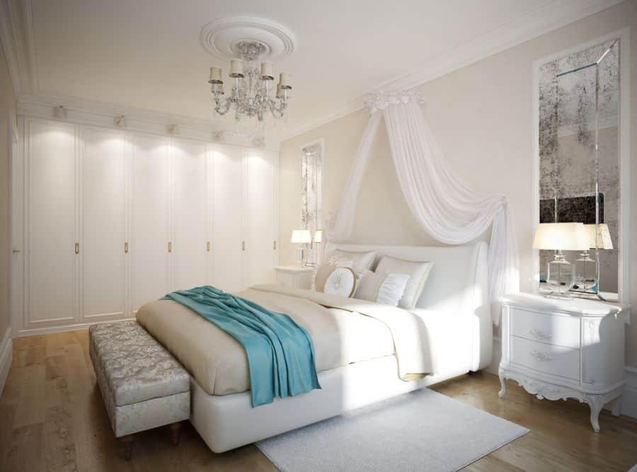 canopy romantic bedroom ideas 2