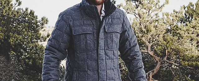Cape Heather Men's Nau Utility Wool Down Jacket Review – Luxurious Recycled Melton Wool