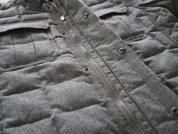 Cape Heather Mens Nau Utility Wool Down Jacket