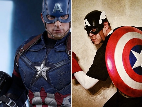 Captain America Best Mens Halloween Costumes