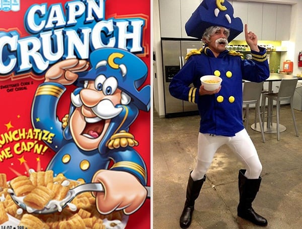 Captain Crunch Best Halloween Costumes For Men