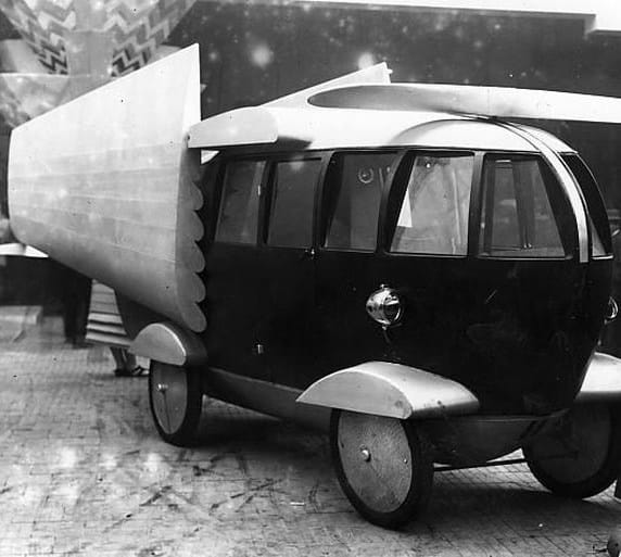 Car With Strange Design