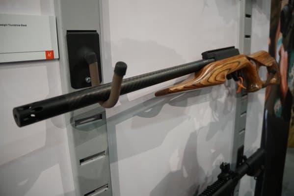 Carbon Fiber Barrel With Wood Stock