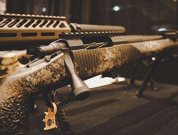 Carbon Fiber Camo Bolt Action Rifle