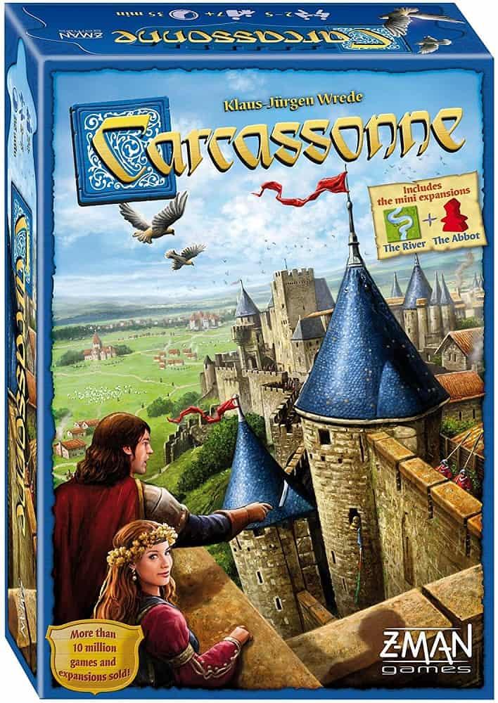 z man carcassonne board game standard