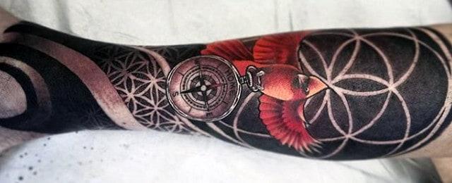 Cardinal Tattoo Designs For Men