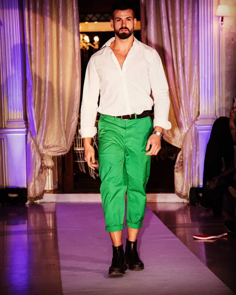 Cargo Green Pants Outfit