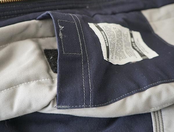 Carhartt Fr Jacket Pocket Open