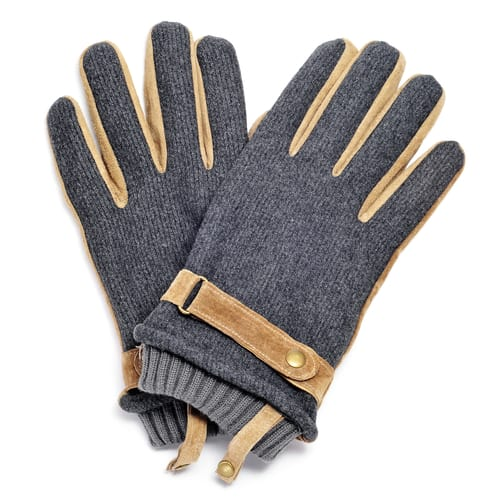 Carhartt Insulated Grain Leather Work Gloves For Men With Safety Cuff