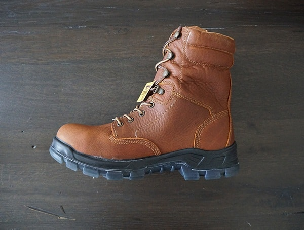 Carhartt Mens 8 Inch Work Boots Leather Waterproof With Composite Protective Toe