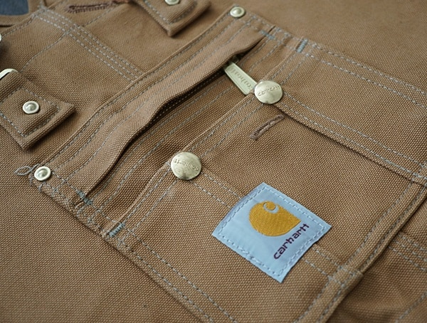 Carhartt Mens Chest Quilt Lined Zip To Thigh Bib Overalls