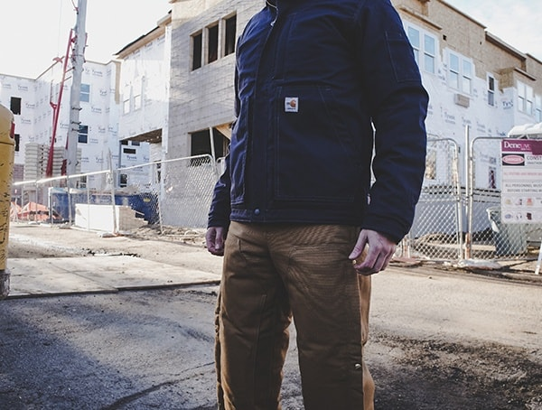 Carhartt Zip To Thigh Bib Overall Quilted Lined For Men Review