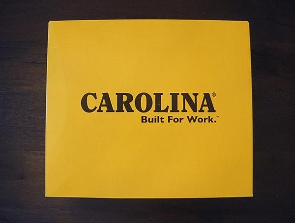 Carolina 6 Inch Wedge Sole Work Boot Shoe Box
