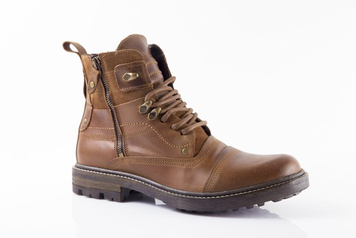 Carolina 8 Inch Comfortable Leather Upper Casual Lace Up American Work Boots For Men