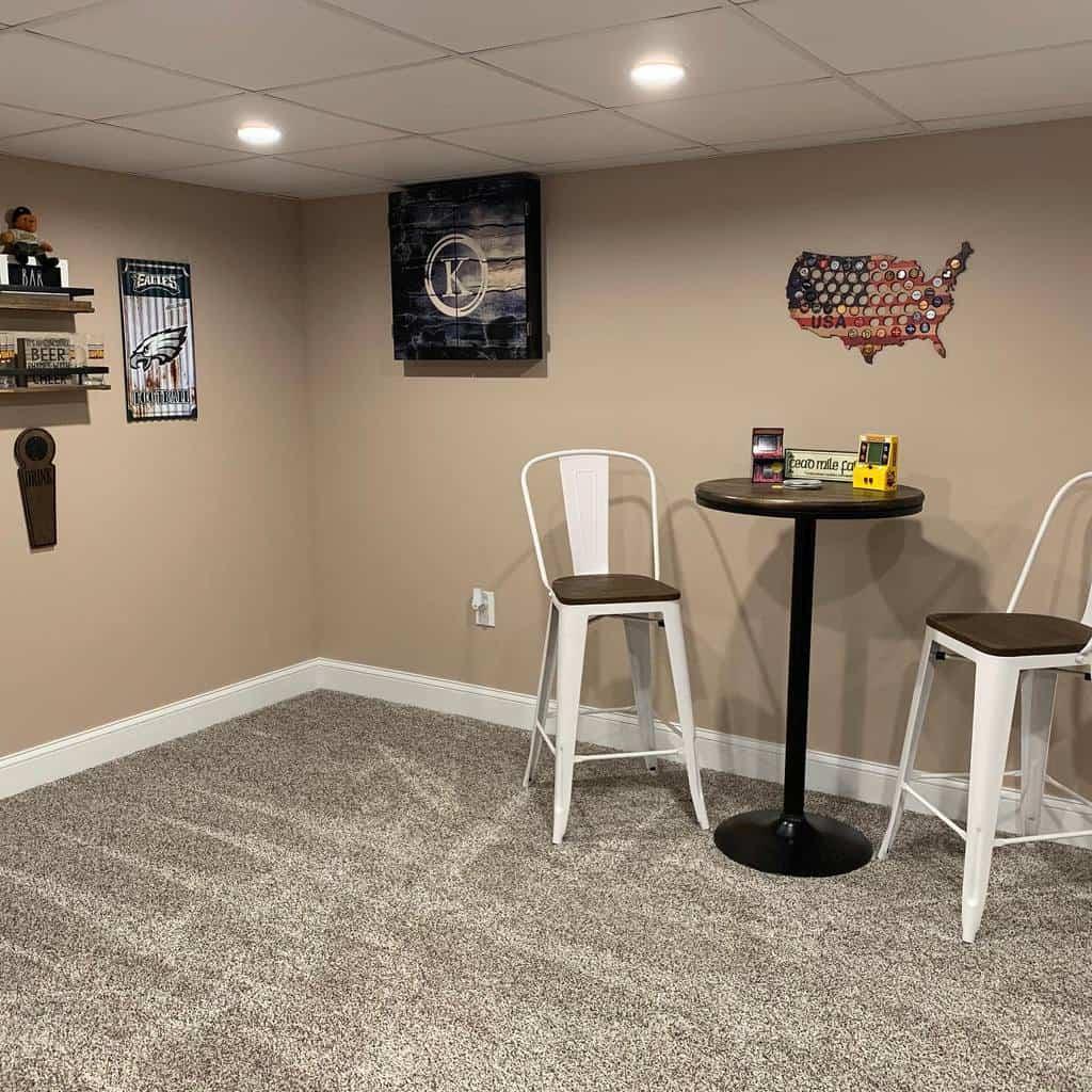 carpet basement floor ideas kennedyandsonsconstruction