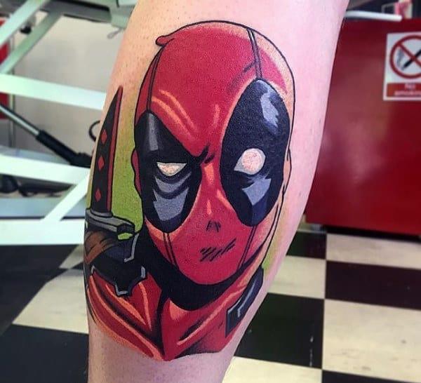 Deadpool Tattoo Outline: Top 77 Deadpool Tattoo Ideas