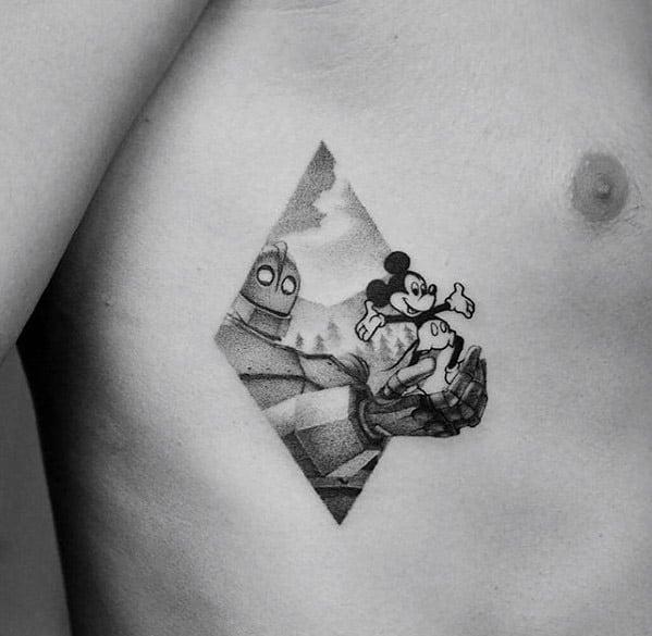 Cartoon Tattoos For Gentlemen