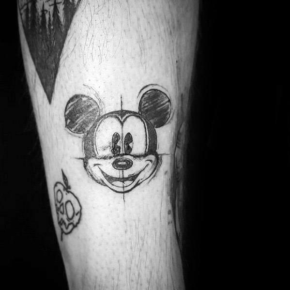 Cartoon Tattoos Guys
