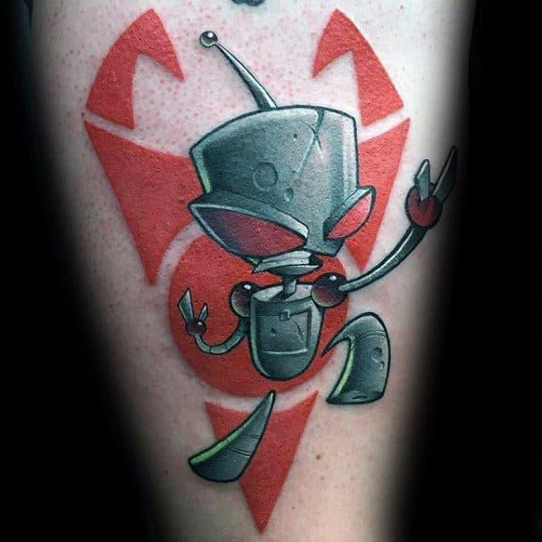 Cartoon Tattoos Men