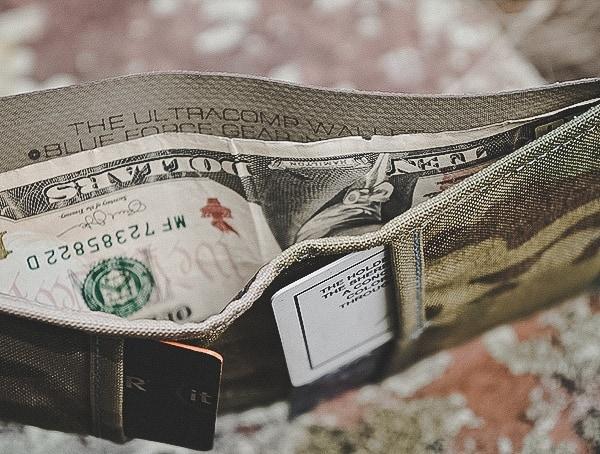 Cash Slot Blue Force Gear Bfg Wallet
