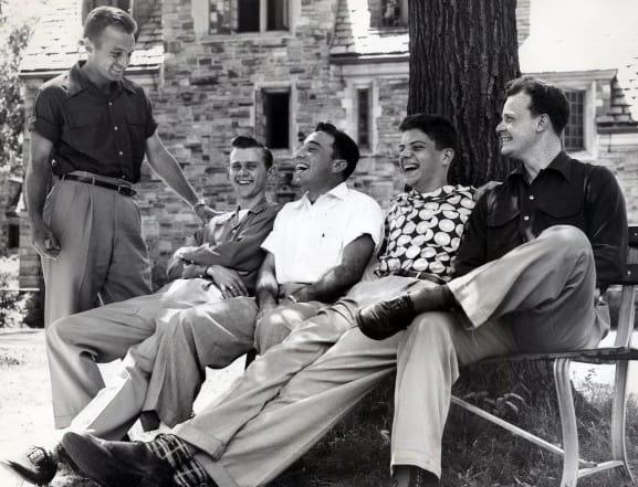 Casual 1950s Male Fashion Ideas