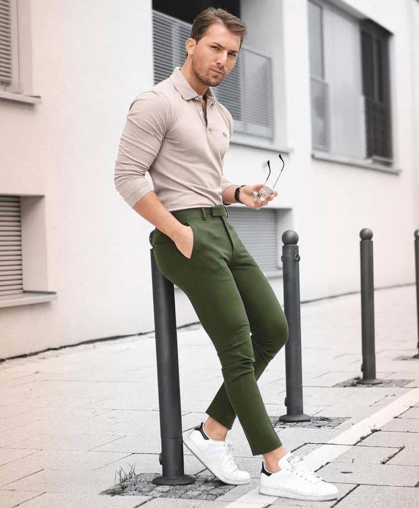 Casual Clothing Green Pants Outfit