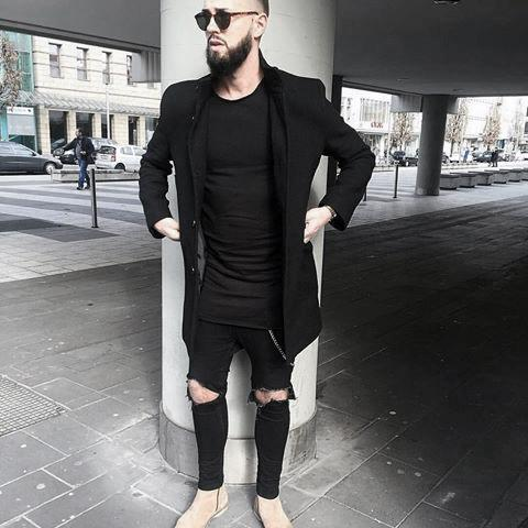 Casual Cool All Black Outfits Mens