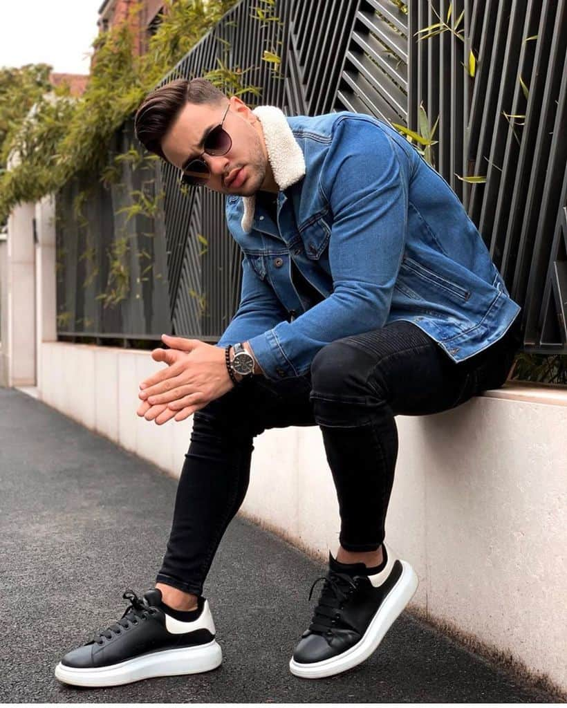 Casual Denim Jacket Mens Style