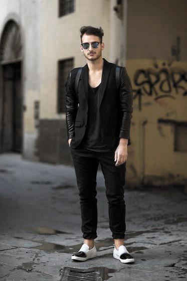Casual Fashion Wear All Black Outfits Mens Ideas