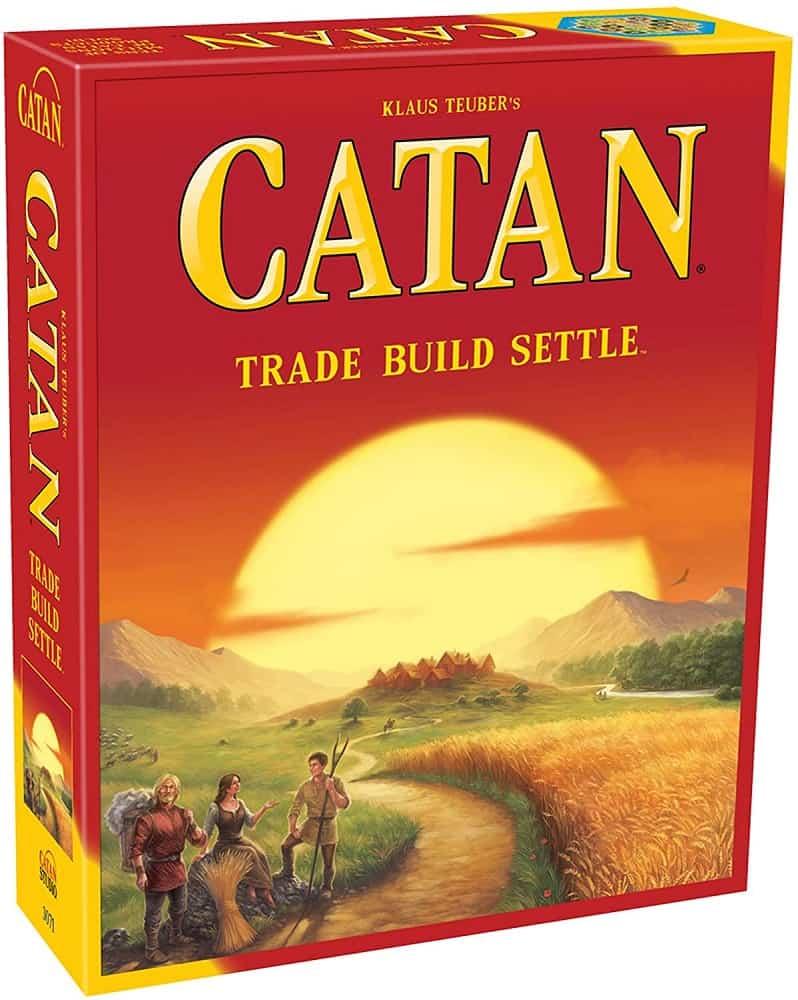 catan the board game multicolor