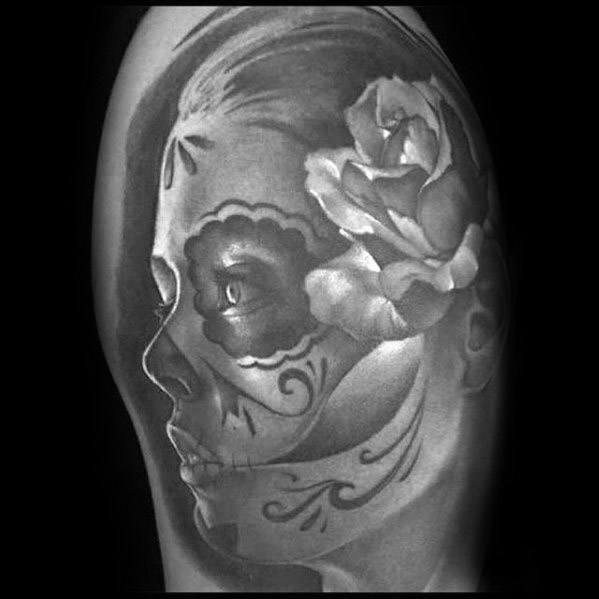 Catrina Guys Tattoo Ideas