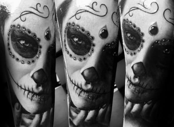 Catrina Guys Tattoos
