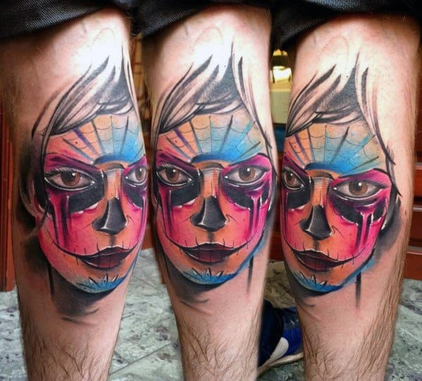 Catrina Male Tattoos