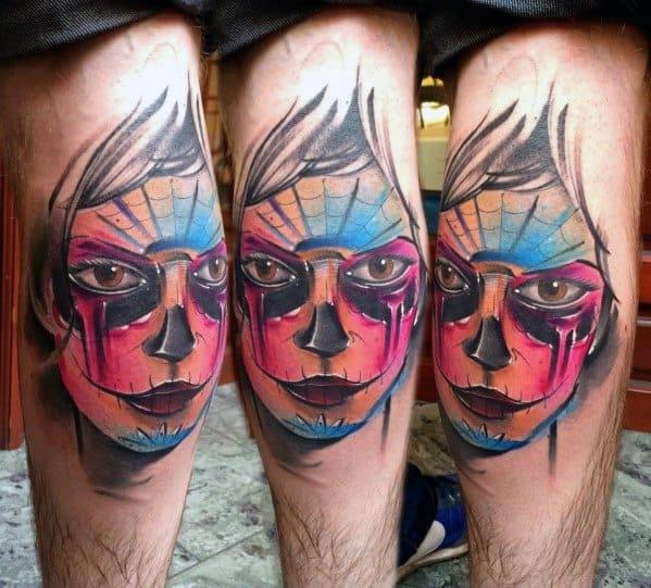 Catrina Male Tattoos