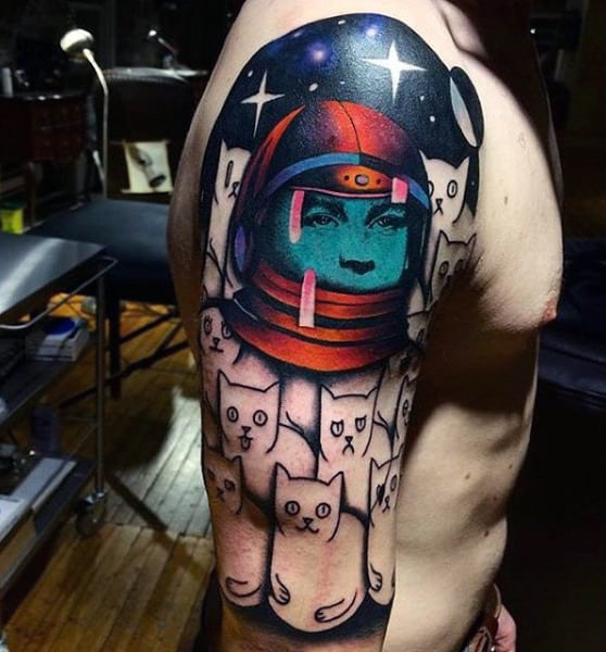 neil armstrong tattoo - photo #16