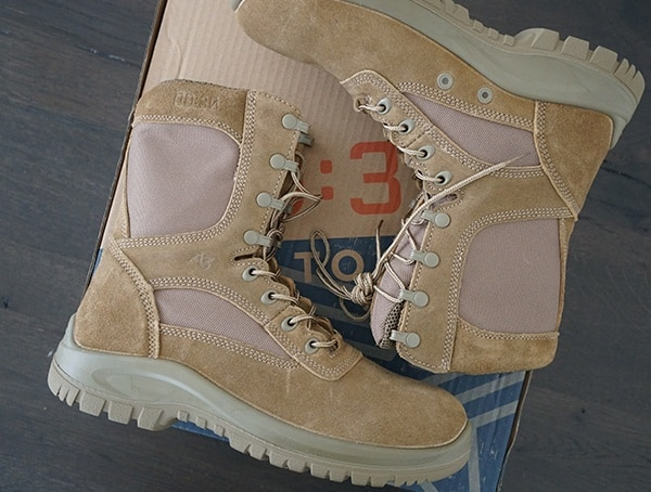 Cattlehide Leather Od 30 Tactical Coyote A3 Combat Boots For Men
