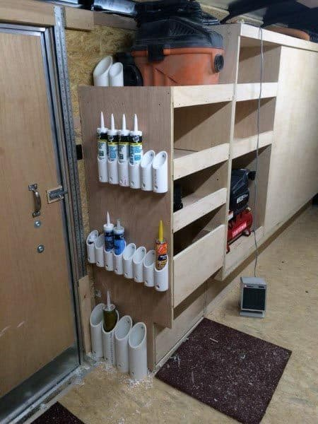 Caulking Tubes Tool Storage Ideas