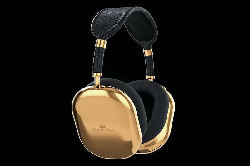 Cop These Gold-Plated Apple AirPods Max Headphones for $108,000